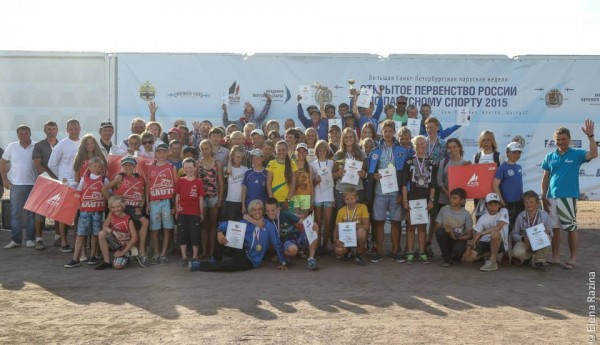 Открытое первенство России по парусному спорту, город Санкт-Петербург 01.08.2015 года