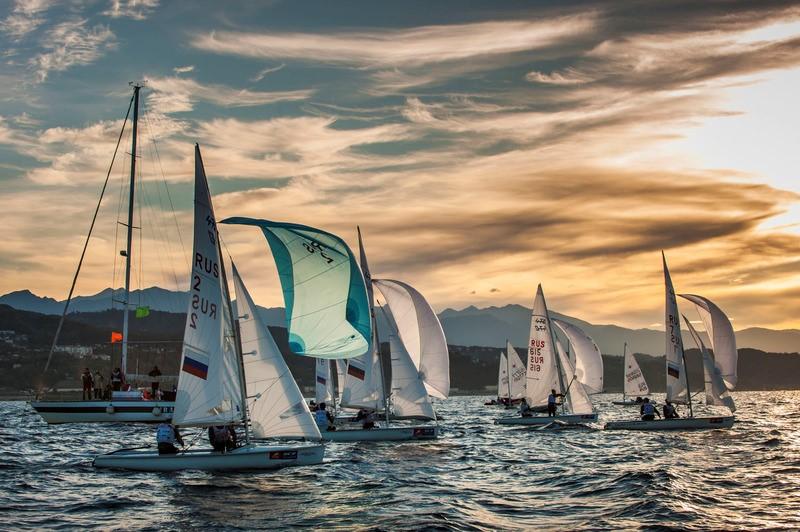 Чемпионат России в олимпийских классах яхт, город Сочи 24.10.2015 года