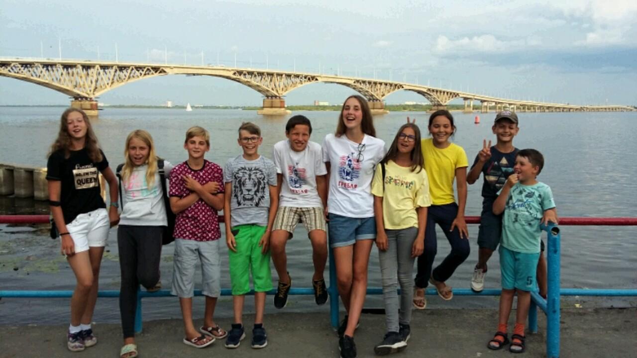 крупнейший в Европе мост через Волгу, разделяющий города Энгельс и Саратов